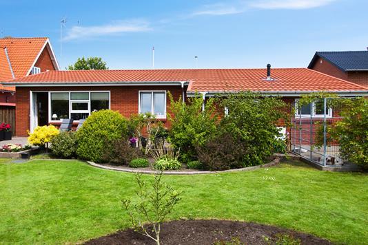 Villa på Kirkebyvej i Thisted - Ejendommen