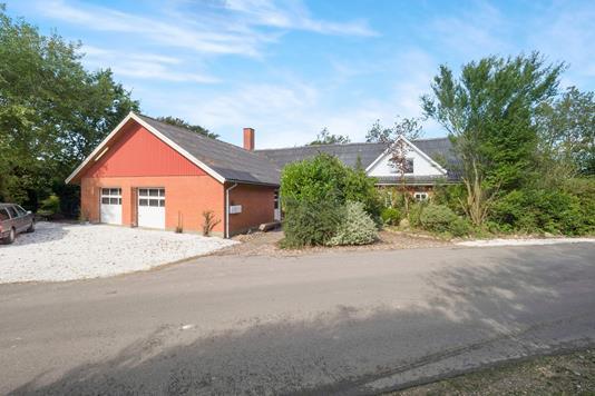 Villa på Skinnerup Skråvej i Thisted - Ejendommen