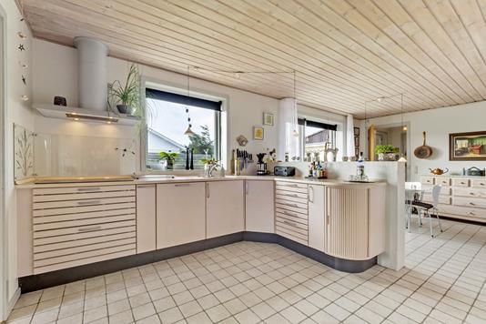 Villa på Krovej i Thisted - Køkken