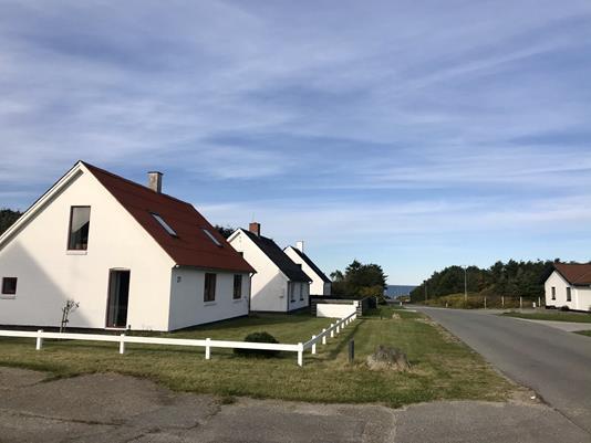 Villa på Molevej i Hanstholm - Facade