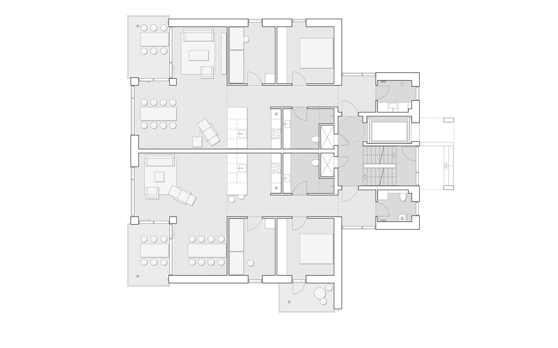 Fjordhuset Østerbakken - Plantegning