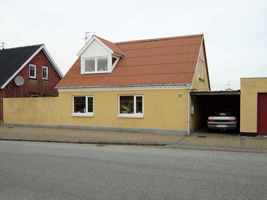 Villa på Bredgade i Roslev - Facade