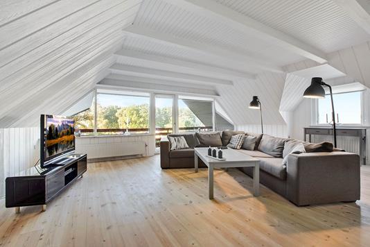 Villa på Hammervej i Nykøbing M - Stue