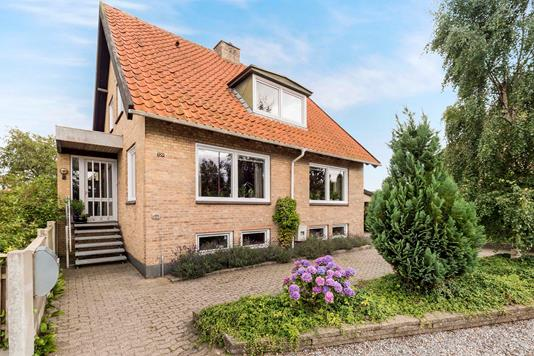 Villa på Fruevej i Nykøbing M - Ejendommen