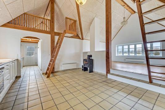 Villa på Rolighedsstræde i Nykøbing M - Køkken