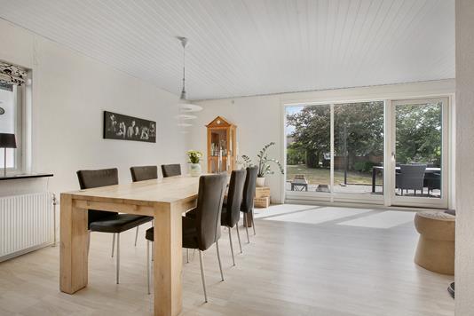 Villa på Kasparsvej i Nykøbing M - Stue