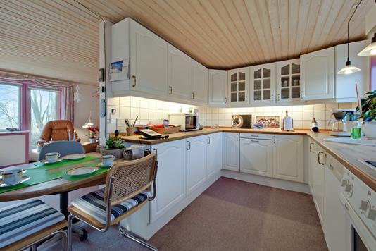 Villa på Nordmorsvej i Erslev - Køkken