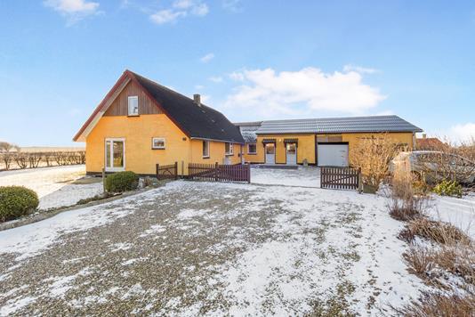 Villa på Glomstrupvej i Redsted M - Ejendommen