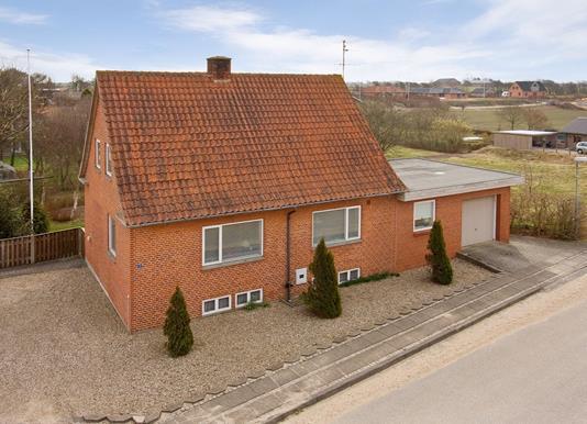 Villa på Ådalsvej i Vils - Ejendommen