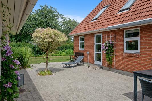 Villa på Nonbo Vænge i Viborg - Terrasse