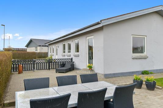 Villa på Solbakken i Viborg - Terrasse