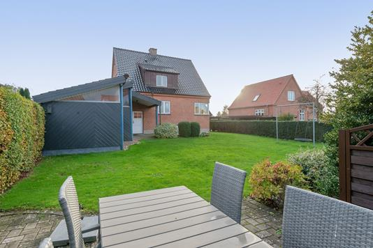 Villa på Birkevej i Viborg - Have