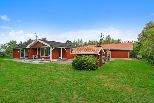 Fritidsbolig på Lyngvej i Højslev - Have