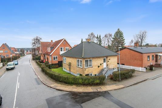 Villa på Chr. Erichsøns Vej i Viborg - Mastefoto
