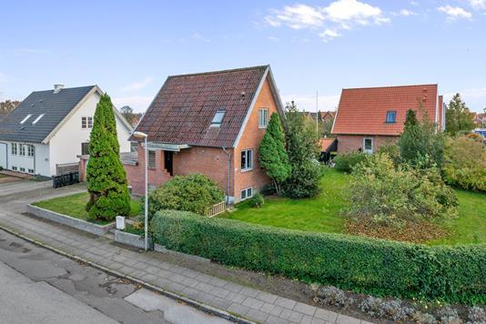 Villa på Holbergsvej i Viborg - Mastefoto