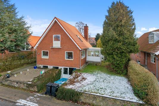 Villa på Norgesvej i Viborg - Mastefoto