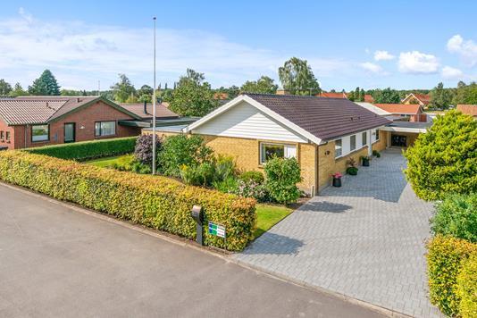 Villa på Enghaverne i Viborg - Mastefoto