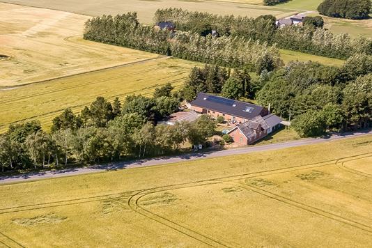 Villa på Nørremarkvej i Skals - Område