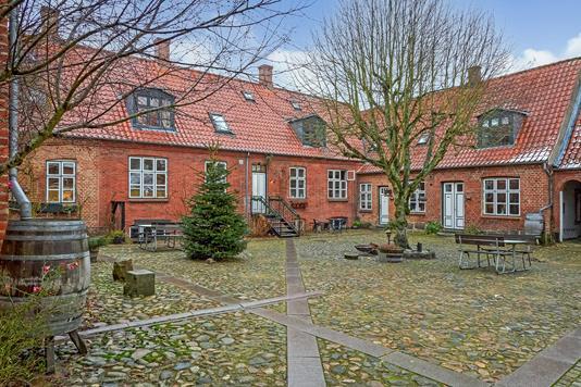 Andelsbolig på Sct. Mogens Gade i Viborg - Terrasse