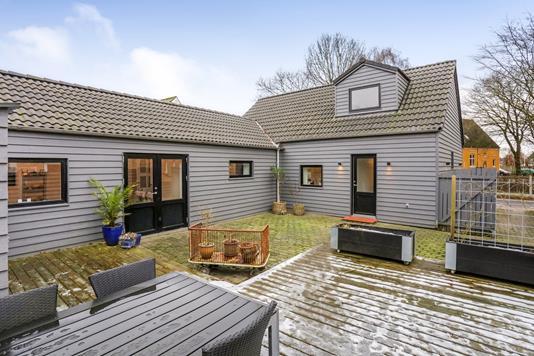 Villa på Gl. Skolevej i Skals - Terrasse