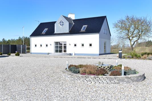 Villa på Stavildvej i Skals - Ejendommen