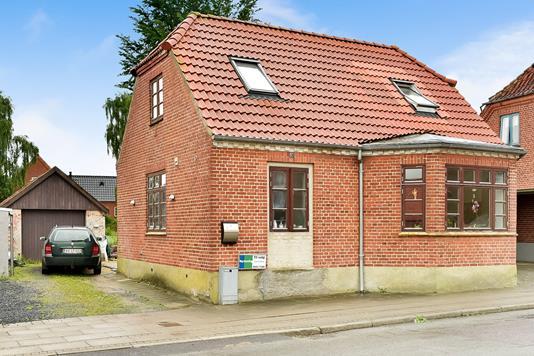 Villa på Vestergade i Stoholm Jyll - Ejendommen