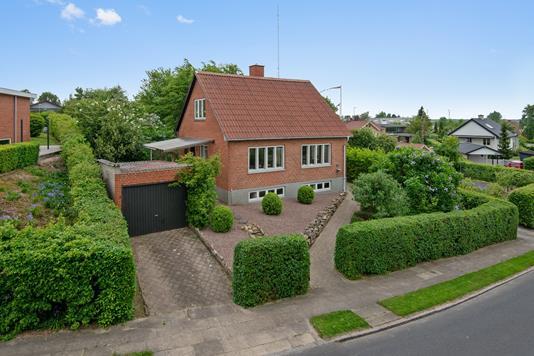 Villa på Fuglebakken i Viborg - Mastefoto