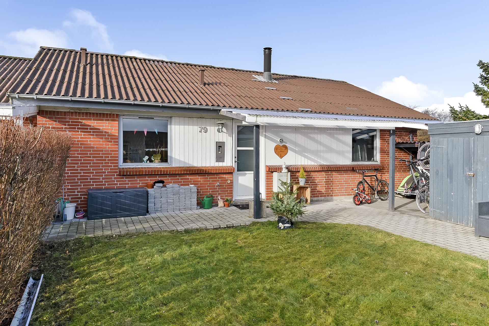 Rækkehus på Hedelyngen i Viborg - Ejendommen