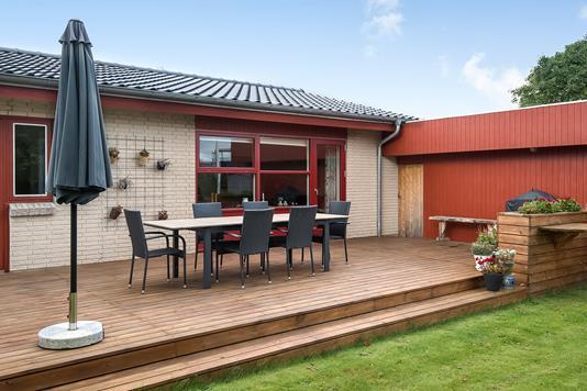 Villa på Nørremarksvej i Viborg - Terrasse