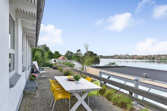 Villa på Nørresøvej i Viborg - Terrasse