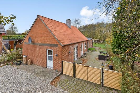 Villa på Østergade i Stoholm Jyll - Ejendommen