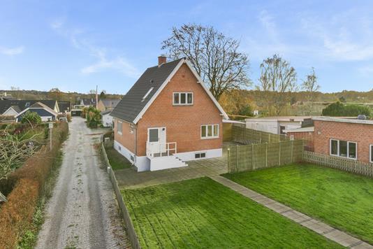 Villa på Koldingvej i Viborg - Mastefoto