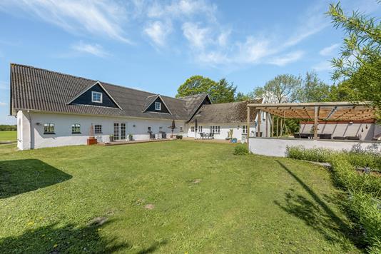 Villa på Haugevej i Kjellerup - Ejendommen