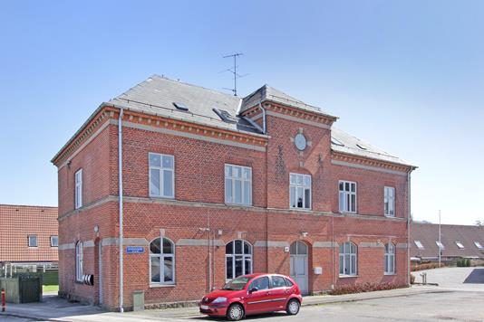 Ejerlejlighed på Jernbanegade i Kjellerup - Ejendommen