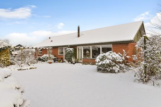 Villa på Hvidgranen i Kjellerup - Ejendommen