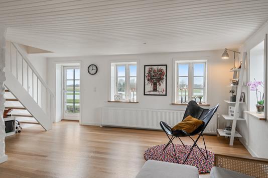 Villa på Vattrupvej i Kjellerup - Stue