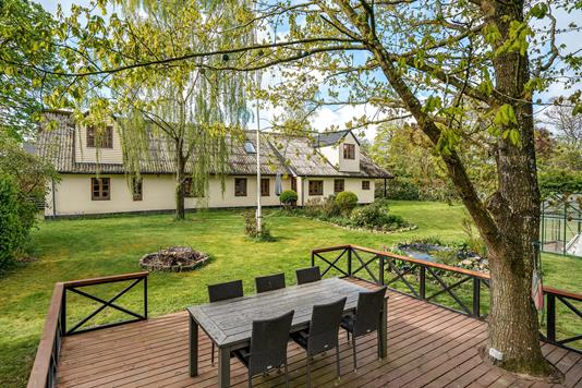 Villa på Branddamsvej i Kjellerup - Terrasse
