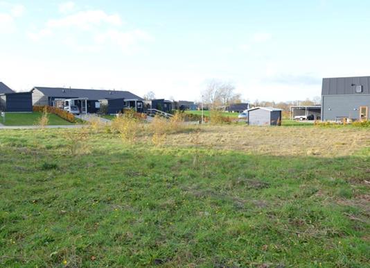 Helårsgrund på Fuglemosesvinget i Kjellerup - Byggegrund