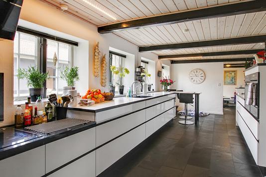 Villa på Follerupvej i Fredericia - Køkken