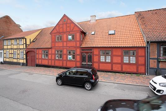 Rækkehus på Prinsessegade i Fredericia - Ejendommen
