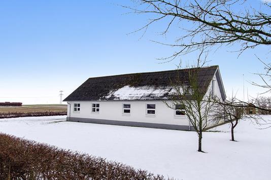Villa på Hjedsbækvej i Støvring - Set fra haven