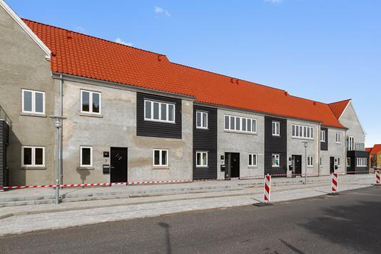 Villa på Kræmmergade i Nibe - Set fra vejen