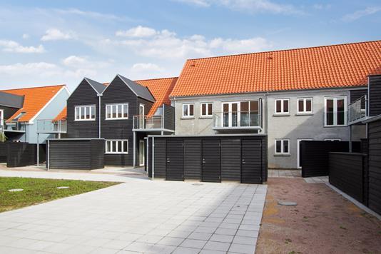 Villa på Sydemestergade i Nibe - Set fra vejen