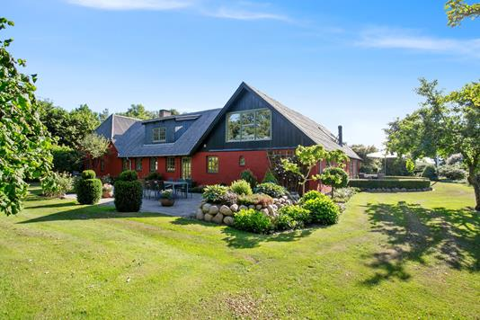 Villa på Hvarrevej i Arden - Set fra haven