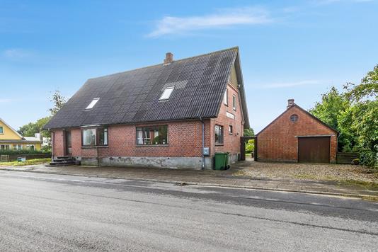 Villa på Kimbrervej i Aars - Ejendommen