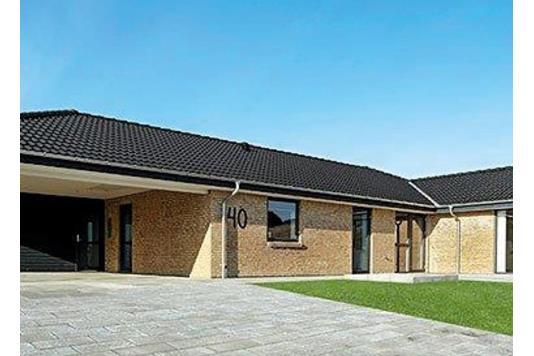 Villa på Rådyret i Støvring - Facade
