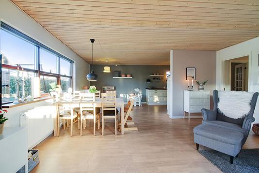 Villa på Østervænget i Støvring - Stue