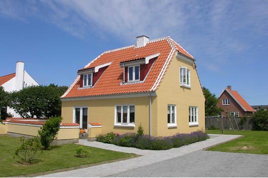Villa på Dr. Alexandrines Vej i Skagen - Facade