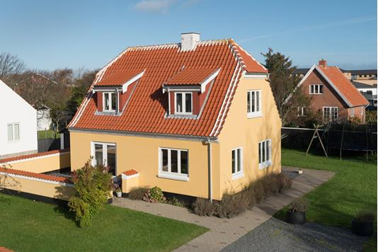 Villa på Dr. Alexandrines Vej i Skagen - Ejendommen