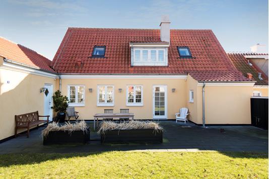 Villa på Kjeldergangen i Skagen - Ejendommen